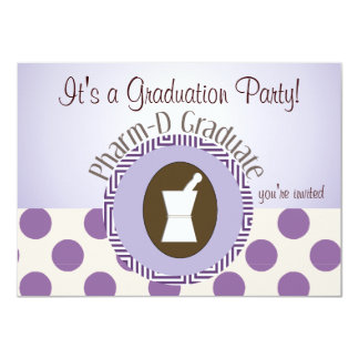 Pharmacist Graduation Party Invitations