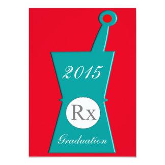 "Pharmacist Graduation Party Invitations #33 4.5"" X 6.25"" Invitation Card"