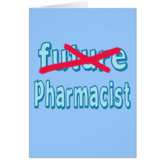 Pharmacist Graduation Products Card