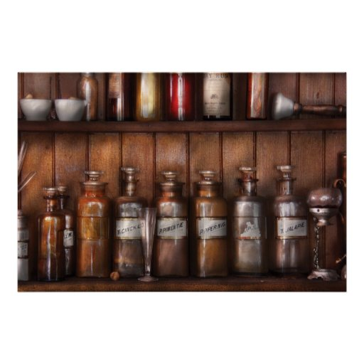 Pharmacist - In a Pharmacists Lab Posters