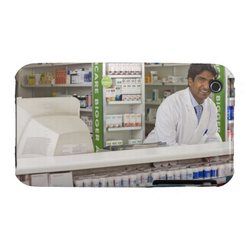 Pharmacist in a pharmacy iPhone 3 cases