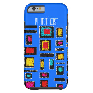 Pharmacist iPhone 6 case Abstract Blue