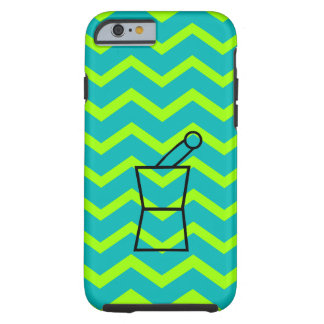 Pharmacist iPhone 6 case Pestle and Mortar Chevron