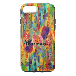 Pharmacist iPhone 7 case Watercolor Art