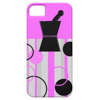 Pharmacist iPhone Cases Retro Style Pink