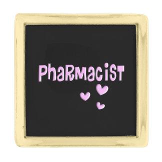 Pharmacist  Lapel Pin Hearts