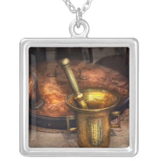 Pharmacist - Making Magic Silver Plated Necklace
