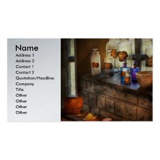 Pharmacist - Medicinal Equipment Business Card