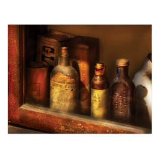 Pharmacist - Mircle Tonics Postcard