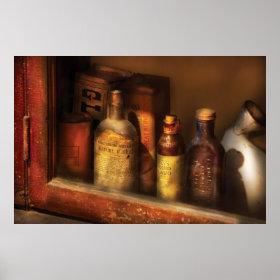 Pharmacist - Mircle Tonics Poster