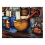 "Pharmacist - Mortar and Pestle 4.25"" X 5.5"" Invitation Card"