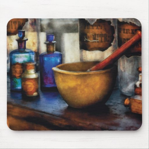 Pharmacist - Mortar and Pestle Mouse Pads