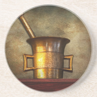(Pharmacist - Mortarium Drink Coaster
