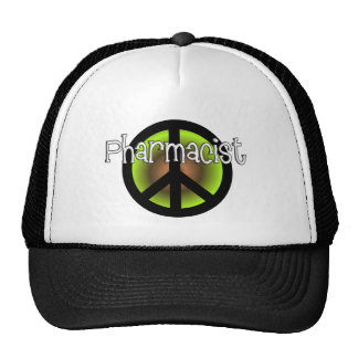 Pharmacist PEACE SYMBOL Gifts Trucker Hat