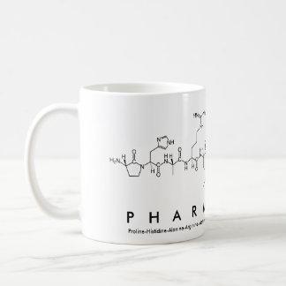 Pharmacist peptide word mug
