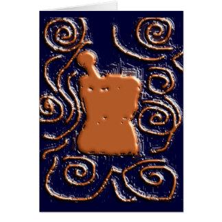 PHARMACIST Pestle & Mortar Design Gifts Card