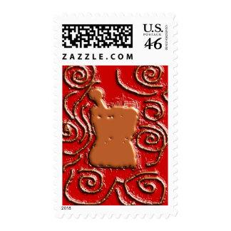 PHARMACIST Pestle Mortar Design Gifts Postage Stamp