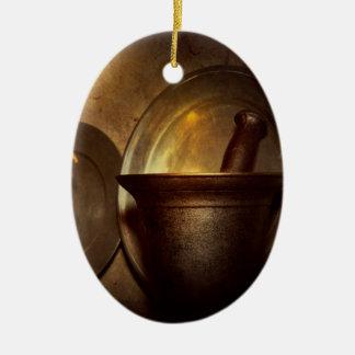 Pharmacist - Pestle - Open late Ceramic Ornament