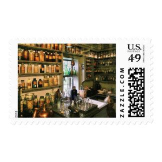 Pharmacist - Pharmacists Drugs Postage Stamp