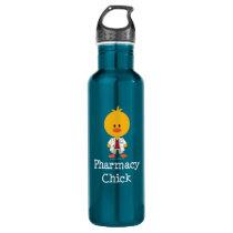 Pharmacist Pharmacy Chick Stainless Steel Water Bottle