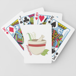 Pharmacist Bicycle Playing Cards