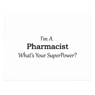 Pharmacist Postcard