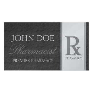 Pharmacist Prescription Compounding Pharmacy Double-Sided Standard Business Cards (Pack Of 100)