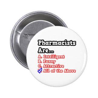 Pharmacist Quiz...Joke Button