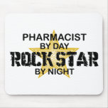 Pharmacist  Rock Star by Night Mouse Pad