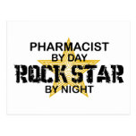 Pharmacist  Rock Star by Night Postcard