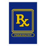Pharmacist RX Posters