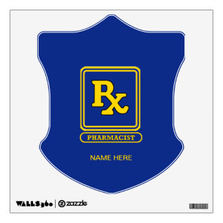 Pharmacist RX Wall Decal