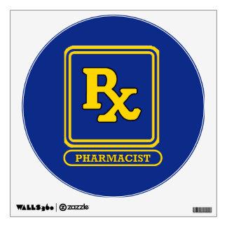 Pharmacist RX Wall Sticker