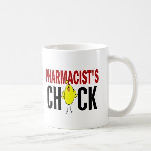 PHARMACIST'S CHICK CLASSIC WHITE COFFEE MUG