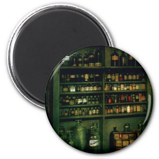 Pharmacist - So many bottles to choose from 2 Inch Round Magnet