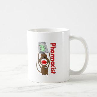 Pharmacist Sock Monkey Design---Adorable Gifts Coffee Mug