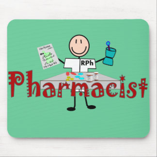 Pharmacist Stick Person--Gifts Mouse Pad