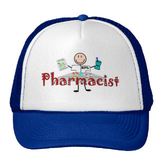 Pharmacist Stick Person--Gifts Trucker Hat