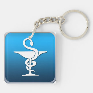 Pharmacist Symbol Keychain