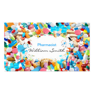 Pharmacist Tarjetas De Visita