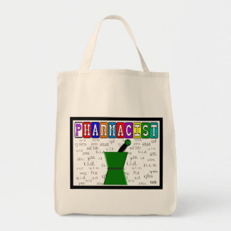 Pharmacist Tote With Rx Abbreviations