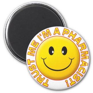 Pharmacist Trust Me 2 Inch Round Magnet