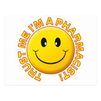 Pharmacist Trust Me Postcards