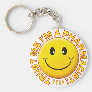 Pharmacist Trust Me Smiley Key Chain