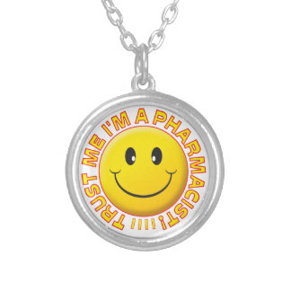 Pharmacist Trust Me Smiley Pendants