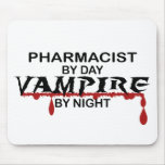 Pharmacist Vampire by Night Mouse Pad