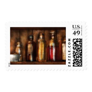 Pharmacist - Various Elixirs Postage Stamp
