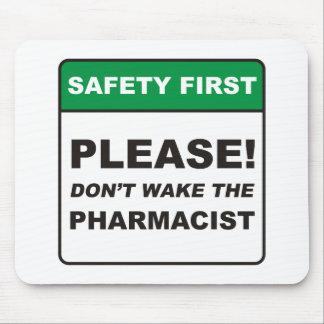 Pharmacist / Wake Mouse Pad