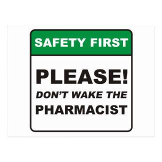 Pharmacist / Wake Post Cards