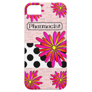 Pharmacist Whimsical Flowers iPhone 5/5S Case